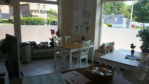 Cafetaria met woonhuis in Kerkrade