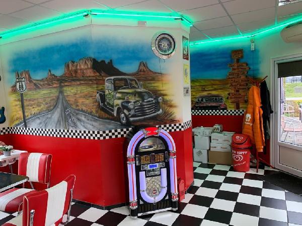 Lunchroom/hamburgerrestaurant ter overname aangeboden foto 11