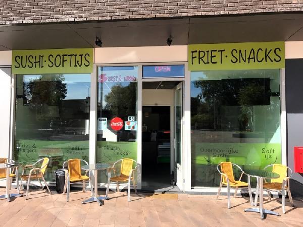 Cafetaria & Sushi te koop Gerretsonplein te Eindhoven foto 1