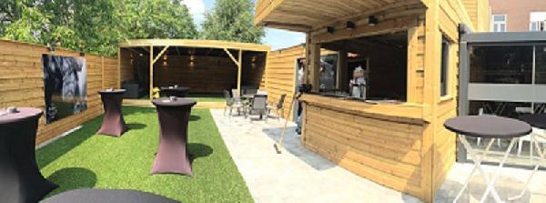 Eetcafé met zaal, terras en bovenwoning in Vogelwaarde (Zeeuws-Vlaanderen) te koop. foto 12