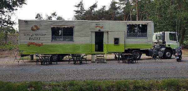 Friet & Snackfoodtruck Apeldoorn / Beekbergen standplaats op parkeerplaats/carpoolplaats