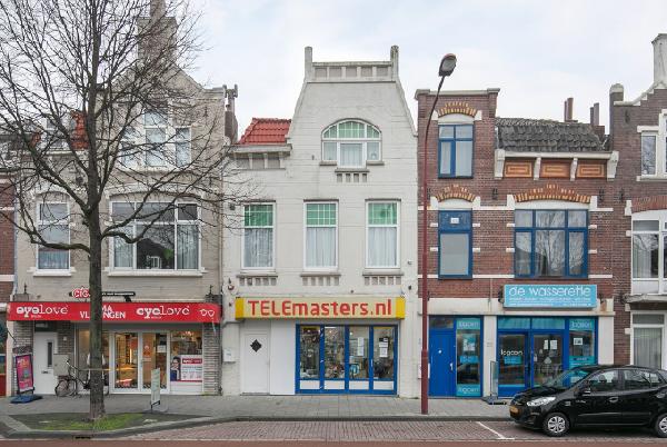 Casco horeca-, winkelruimte met bovenwoning te huur in Vlissingen.
