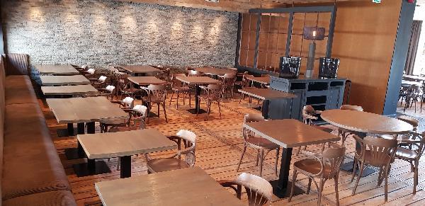 Multifunctionele Horeca (Dak)terras 270 zitplaatsen Volledig Ingericht ca.500m² foto 20