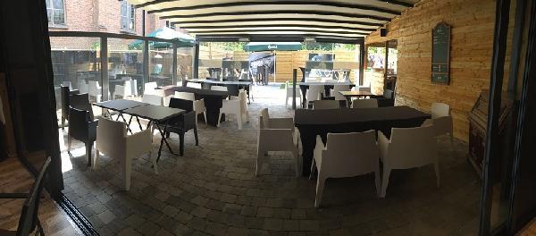 Eetcafé met zaal, terras en bovenwoning in Vogelwaarde (Zeeuws-Vlaanderen) te koop. foto 11