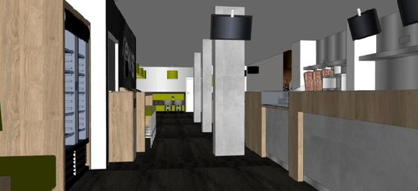 Cafetaria & Grillroom met ruim terras in centrum Veenendaal foto 9