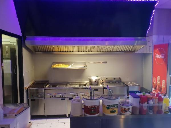 Imbiss Bistro Cafetaria Snackbar Emlichheim Duitsland foto 4