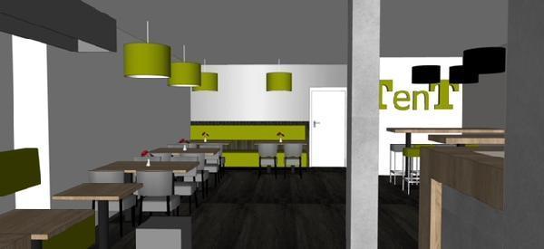 Cafetaria & Grillroom met ruim terras in centrum Veenendaal foto 10