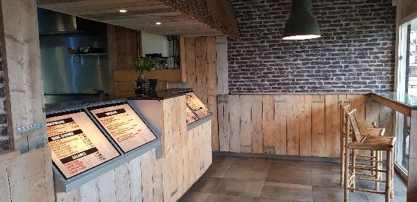 Afhaal & bezorg restaurant keuken, op super locatie op 2 adressen 2 bedrijven in 1 pand - Top Reviews foto 3